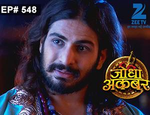 Jodha Akbar - Episode 548 - July 14, 2015 - Full Episode