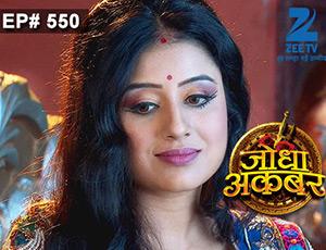 Jodha Akbar - Episode 550 - July 16, 2015 - Full Episode