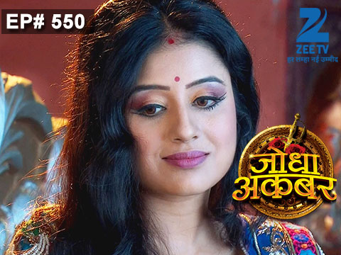 Jodha Akbar - Episode 550 - July 16, 2015 - Full Episode