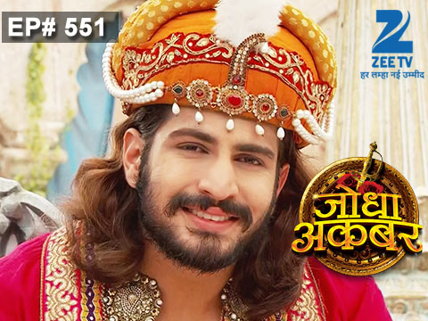 Jodha Akbar - Episode 551 - July 17, 2015 - Full Episode