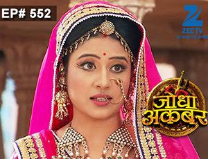 Jodha Akbar - Episode 552 - July 20, 2015 - Full Episode