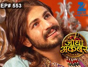 Jodha Akbar - Episode 553 - July 21, 2015 - Full Episode