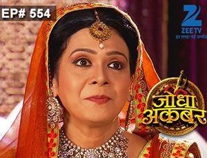 Jodha Akbar - Episode 554 - July 22, 2015 - Full Episode