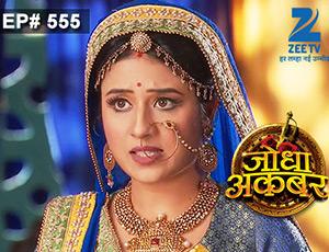 Jodha Akbar - Episode 555 - July 23, 2015 - Full Episode