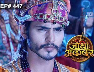 Jodha Akbar - Episode 447 - February 23, 2015 - Full Episode