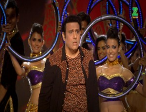 Govinda - Raveena Come Together To Perform On Stage For ZCA 2017