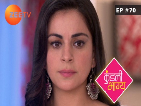 Kundali Bhagya Ep 70 17th October 2017