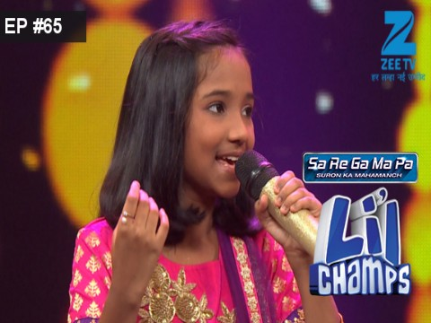 Sa Re Ga Ma Pa Lil Champs 2017 Ep 65 14th October 2017
