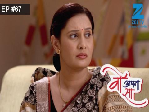 Woh Apna Sa - Episode 67 - April 25, 2017 - Full Episode