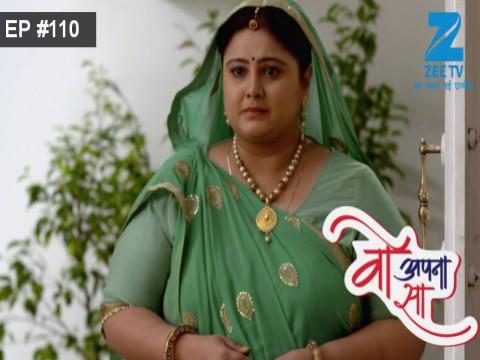 Woh Apna Sa - Episode 110 - June 23, 2017 - Full Episode