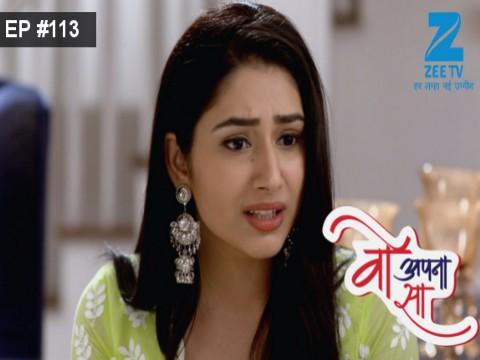 Woh Apna Sa - Episode 113 - June 28, 2017 - Full Episode