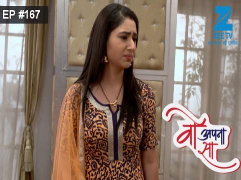 Woh Apna Sa - Episode 167 - September 11, 2017 - Full Episode