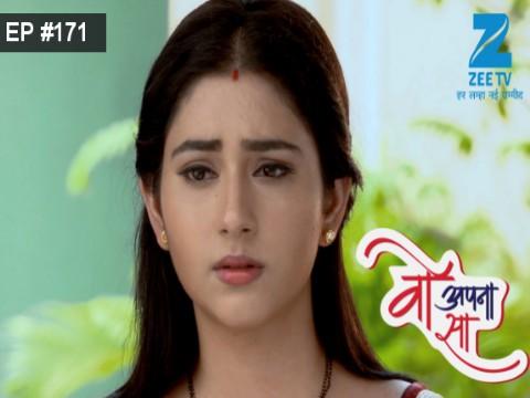 Woh Apna Sa - Episode 171 - September 15, 2017 - Full Episode