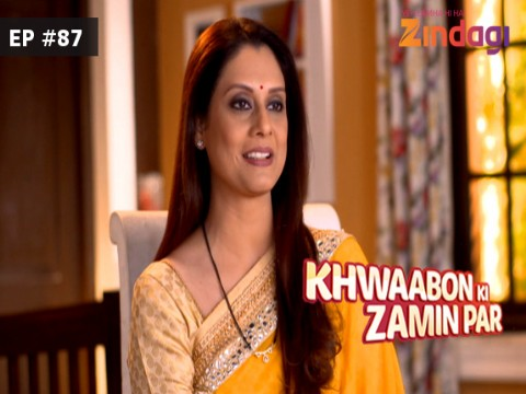 Khwaabon Ki Zamin Par Ep 87 11th January 2017