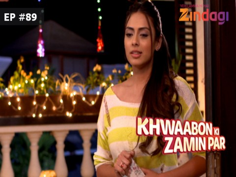 Khwaabon Ki Zamin Par Ep 89 13th January 2017