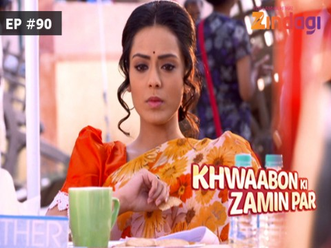 Khwaabon Ki Zamin Par Ep 90 14th January 2017