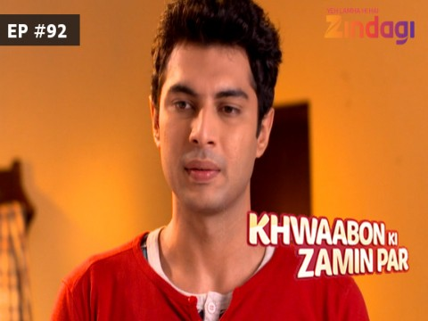 Khwaabon Ki Zamin Par Ep 92 17th January 2017
