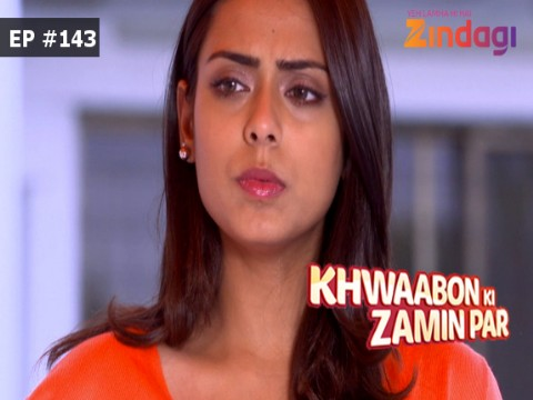 Khwaabon Ki Zamin Par Ep 143 17th March 2017