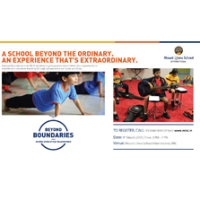 Mount Litera School International to give parents and children the opportunity to experience innovative learning through 'Beyond Boundaries'