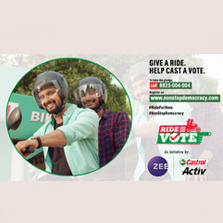 Zee Network partners with Castrol's #RideForVote initiative towards a #NonStopDemocracy
