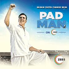 Today you can #BeThePadman with ZEE5