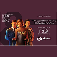 Witness unusual dawn of the most famous female superhero of all time, as &PriveHD premieres Professor Marston and the Wonder Women