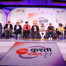 Zee Entertainment, in association with Wrestling Federation of India, announces the launch of Zee Kushti Dangal