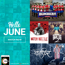 ZEE5 globally debut its first Sports Drama and its first Stand Up Comedy Series this June