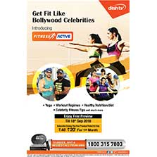 Get Fit with Dish TV's new 'Fitness Active' service