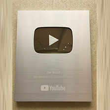 Zee World Africa receives YouTube Silver Creator Award