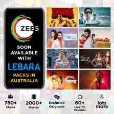 ZEE5 partners with Lebara Australia to bring the largest library of content for South Asians to its subscribers