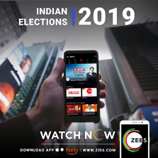 From the world's largest democracy; ZEE5 brings the Indian elections LIVE to its Global Audiences