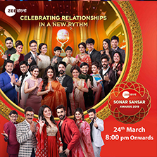 Watch the Zee Bangla Family Come Together with Sonar Sansar Awards 2019 on 24th March