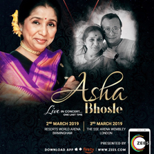 ZEE5 sponsors iconic singer Asha Bhosle's global farewell tour and tribute to music maestro R.D. Burman, in the UK