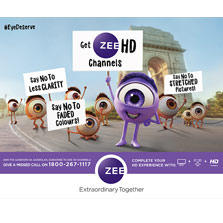 ZEEL turns activist with 'Aankhon Ka Aandolan' driving upgrade to an HD quality viewing experience