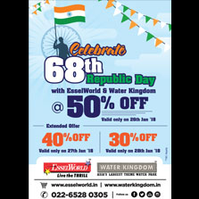 This Republic Day weekend head to EsselWorld & Water Kingdom