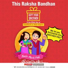 Bond over Raksha Bandhan at EsselWorld & Water Kingdom!