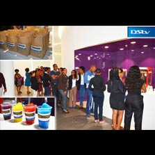 Zee Bollymovies Africa screens 'Rustom' at the Multichoice (DStv) office in Johannesburg