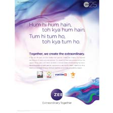 ZEE Entertainment expresses its gratitude and acknowledges contribution of its peers in making the Media & Entertainment industry, truly extraordinary