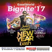 Special Esselite offer for BigNite 2017 at EsselWorld