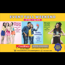 Long Weekend Bonanza at EsselWorld & Water Kingdom- from 29th March to 1st April 2018