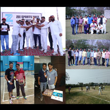 ZEE employees enthusiastically participate in the 2nd Annual Sports Meet held in Noida