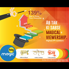 Big Magic Records A Remarkable Rise Of 139% In 1800 - 2000 Hrs Prime Time Viewership