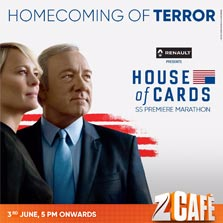 Zee Cafe to premiere 'House of Cards Season 5' on 3 June