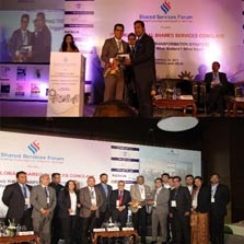 EBEX wins the Award for Best Shared Services Provider serving in the India Market