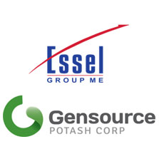 Essel Group ME announces Execution of Shareholder Agreement for its Vanguard Potash Corp Joint Venture with Gensource