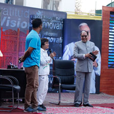 India's popular motivational youth show, 'Dr. Subhash Chandra (DSC) Show' travels to Kashmir