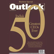 Essel Group and ZEE Chairman, Dr. Subhash Chandra features in Outlook's first-ever list of 'India's 50 Greatest CEOs Ever'