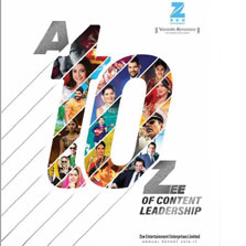 ZEE unveils its Annual Report for FY2016-17 with the theme 'A to ZEE of Content Leadership'