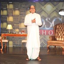 India's 'Media Moghul', Dr. Subhash Chandra (DSC) inspires students of Nirma University, Ahmedabad
